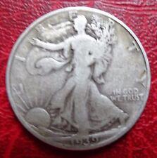 United States, Walking Liberty Half Dollar, 1939D,   Very Fine ++ (A-007/1)