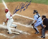 HOWIE KENDRICK SIGNED 8X10 PHOTO ANGELS NATIONALS NLCS MVP GRAND SLAM DODGERS A