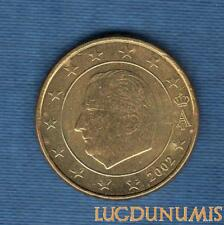 Belgique 2002 50 centimes d'euro SUP SPL provenant d'un rouleau Belgium