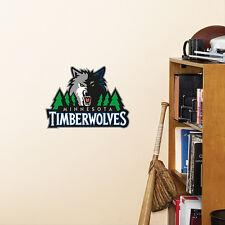 "Minnesota Timberwolves 11""x9"" Fathead Nba Team Logo Teammate Vinyl Wall Graphics"