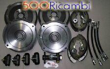 FIAT 500 F/L 68/72 KIT FRENI: 4 TAMBURI, 8 GANASCE, 1 POMPA FRENI, 4 TUBI NUOVI