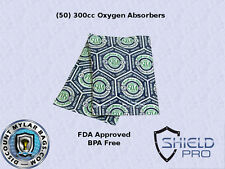 1 Case - 300CC OXYGEN ABSORBER PACKETS-1500 Units Mylar