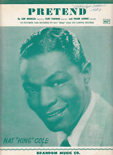 Pretend-1952-Nat King Cole-4  Page-Sheet Music
