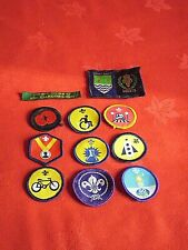 VARIOUS CUB / SCOUT SEW ON PATCHES