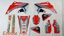 Honda CRF450R 2002-2004 NEW FLU PTS4 Graphics Stickers Decals Motocross
