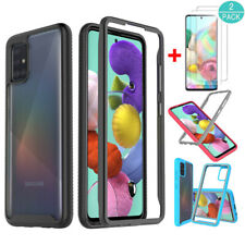 For Samsung Galaxy A51/A71 4G/A20S Shockproof Bumper Case Cover+Screen Protector