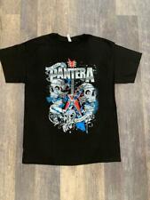 Pantera Band T-Shirt Rock Punk pop Alternative Metal Unisex Skulls Guitar