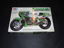 Tamiya 1/12 Kawasaki KR500 Motorcycle Model Kit.