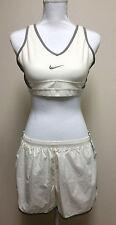 NIKE womens 2 pieces runningshorts sz. XL & bra sz. L DRI FIT