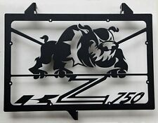 "cache grille protection de radiateur Kawasaki Z750 07>12 ""Bulldog"" noir mat"