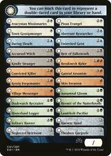 Checklist Token CH1 10x - Flip Cards - SOI Shadows Over Innistrad - MTG Magic NM