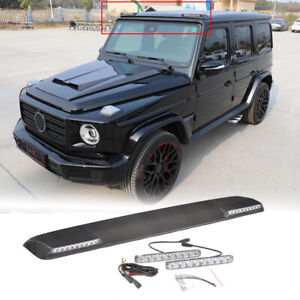 Carbon Fiber Front Roof Spoiler Wing For Mercedes-Benz G Class W463 G63 AMG 2019