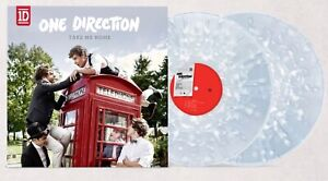 One Direction Take Me Home Limited White Clear LP Vinyl Pre Order Harry Styles