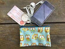 12 x 8 cm   Girls   / Ladies Australian Handmade Cute Owl Coin purse