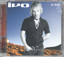 All in All by Ivo Sidler (CD, 2003, Sony) German Import/Enhanced/Swiss Pop Star