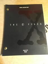 THE X-FILES Show Script - Pilot Episode #1x79 Mulder And Scully