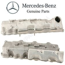 For Mercedes W203 W211 W163 R170 Pair Set of 2 Engine Cylinder Valve Covers OES