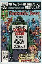 Marvel Comics The Fantastic Four #238 Jan. 1982 Doctor Doom Cover VF/NM