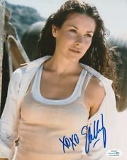 """*Sexy* Evangeline Lilly Signed """"Lost"""" Kate Austen 8x10 Photo! Autograph Acoa Coa"""