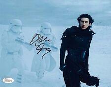 Adam Driver Star Wars Autographed Signed 8x10 Photo JSA COA #1