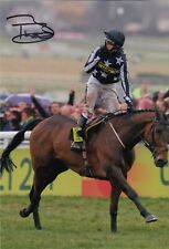 More details for horse racing - paddy brennan - hand signed 12x8 photograph - coa