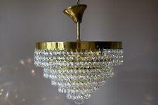 Flush Crystal Chandelier, Antique Hallway Vintage HomeLiving Kitchen lighting