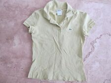 Misses size 38 Lacoste polo shirt