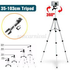 360° Handy Tripod Halterung Kamera Stativ Teleskop Verstellbar Halter Universal