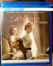 """Beguiled, The """" Blu-Ray Movie Disc, Blu-ray Case and Artwork"""