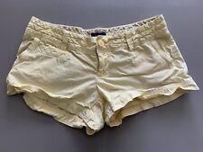 American Eagle Khaki Light Yellow Shorts Size 2 Womens A&E