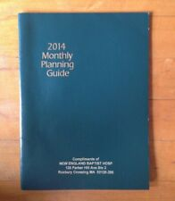 2014 Planner Monthly Layout Planning Guide Calendar 95 X 7 In