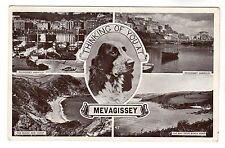 Mevagissey - Multiview Photo Postcard c1940s