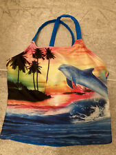 ocean pacific bathing suit top girls small 6