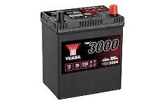 YUASA PREMIUM 12v Type 054 Car Battery 3 Year Warranty - EB356 YBX3054