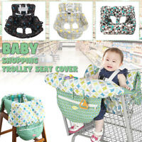 Portable Baby Shopping Trolley Cover Cart Seat High Chair Soft Pad Cushions Mats