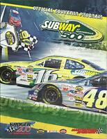 NASCAR 2006 Subway 500 Race at Martinsville Official Souvenir Program