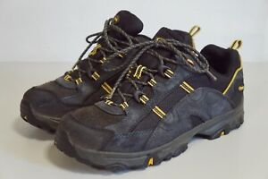 Womens MEINDL Suede Top Hiking Boots Shoes Blue Size 4.5 UK 38 EU