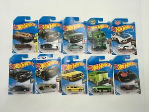 10 Packs Hot Wheels Vehicle Car Toy: Ain'T FARE Mercedes-BENZ 500 E 71 Datsun 51