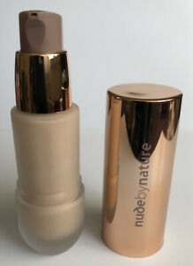 3x Nude By Nature Flawless Liquid Foundation N3 Almond Makeup Bundle Joblot