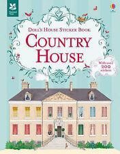Doll'S House Sticker Book Coun Megan Cullis 9781409582281 Usborne