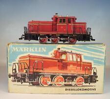 Märklin H0 3065 Diesellok V60 1009 der DB mit Telex Kupplung in O-Box #4059