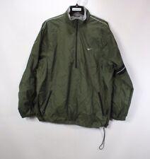 Vintage 90s Nike Mens XL Travis Scott Small Swoosh Half Zip Fleece Lined Jacket