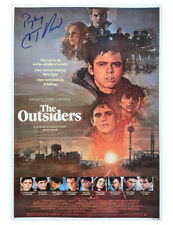 More details for a3 the outsiders poster signed by c. thomas howell 100% authentic with coa