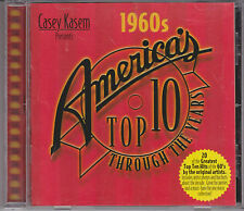 CASEY KASEM America's Top 10 THROUGH THE YEARS 60's Various Artists CD Yardbirds