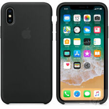 UltraThin Original Genuine Silicone Leather Case Cover For iPhone X 6s 7 8 Plus