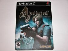 Resident Evil 4 Premium Edition Steelbook Complete Game for PlayStation 2 PS2