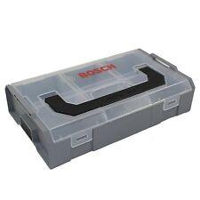 Bosch L-Boxx mini Professional vacío 260x63x155 mm boxx gris-tapa transparente
