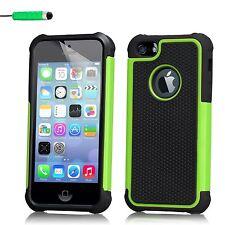 Doble Capa Funda A Prueba De Choques Apple iPhone Modelos+Protector Pantalla &