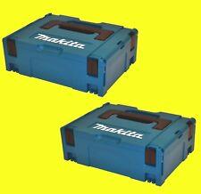 2 x Makita Makpac Größe 2 P-02375 ohne Einlage Systainer Koffer