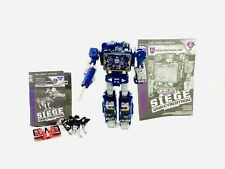 Transformers War for Cybertron Siege Soundwave Wfc-s25 Laserbeak Ravage set
